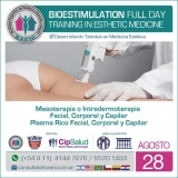 Bioestimulation Full Day. Training in Esthetic Medicine