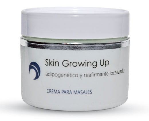 Skin Growing Up: adipogenético y reafirmante localizado