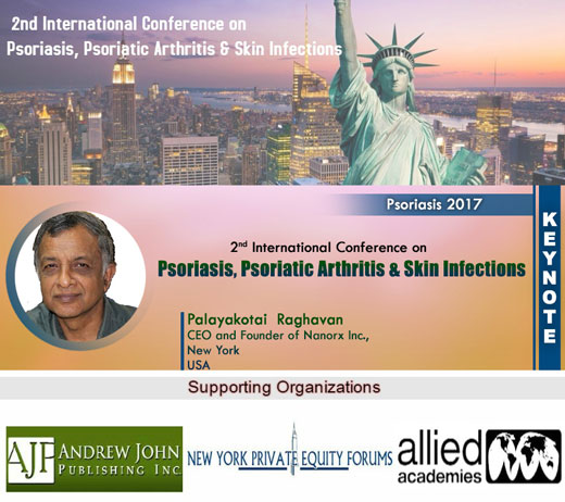 Psoriasis 2017 / 2nd International Conference on Psoriasis, Psoriatic Arthritis & Skin Infections