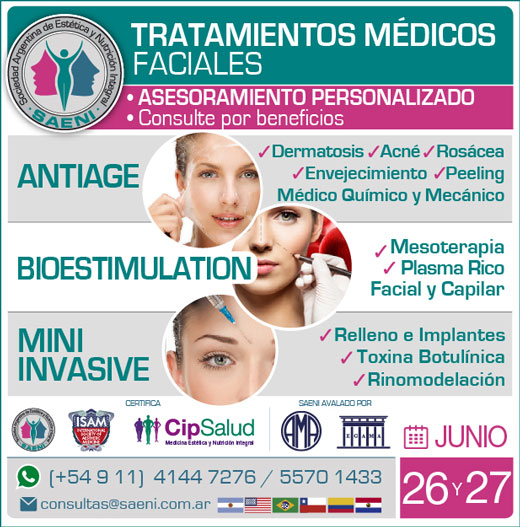Tratamientos médicos faciales: antiage, bioestimulation y mini invasive