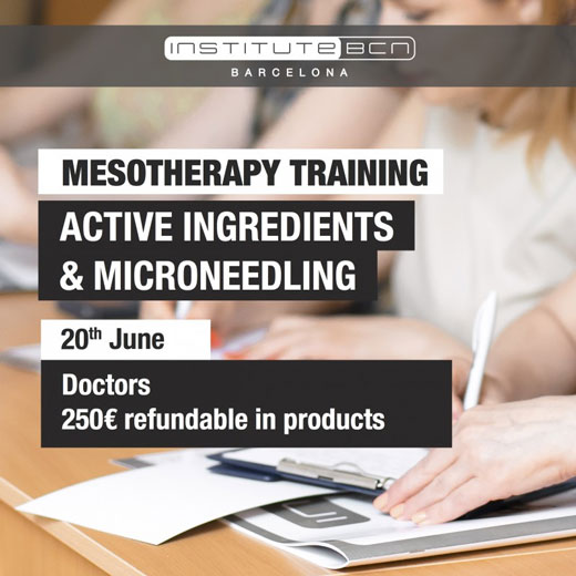 Mesotherapy training: active ingredients & microneedling