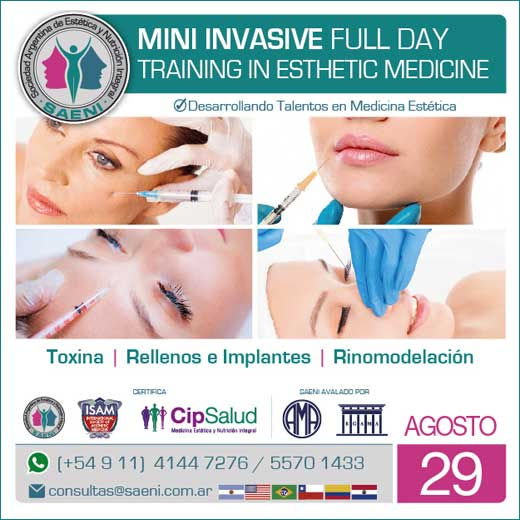 Mini Invasive Full Day. Training in Esthetic Medicine