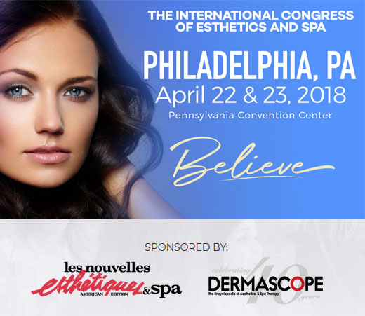 The International Congress of Esthetics and Spa Philadelphia 2018