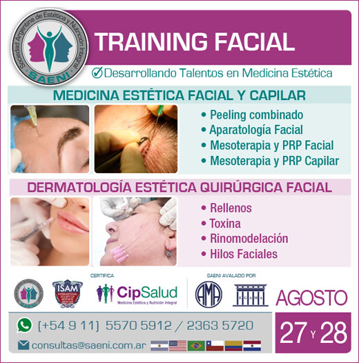 Training facial médico