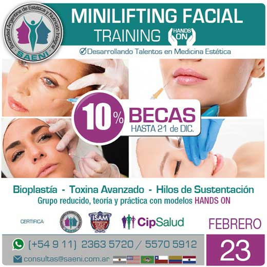 Training Minilifting facial